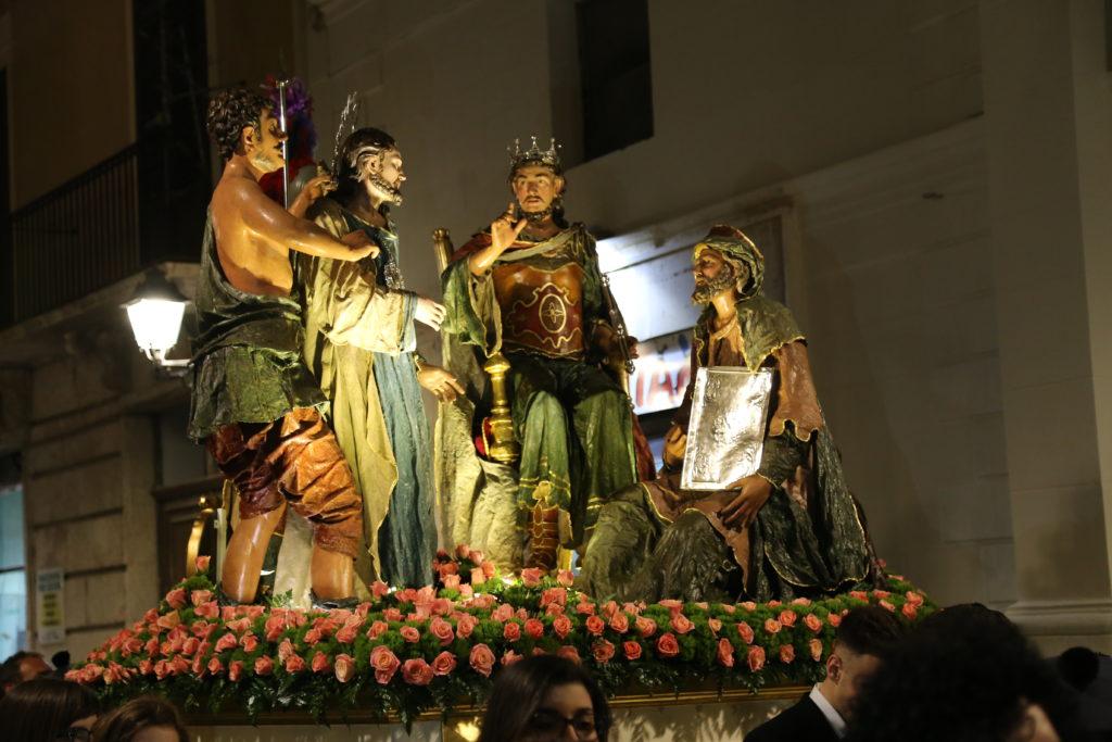 Gesù dinanzi a Erode - Ceto dei Pescivendoli.