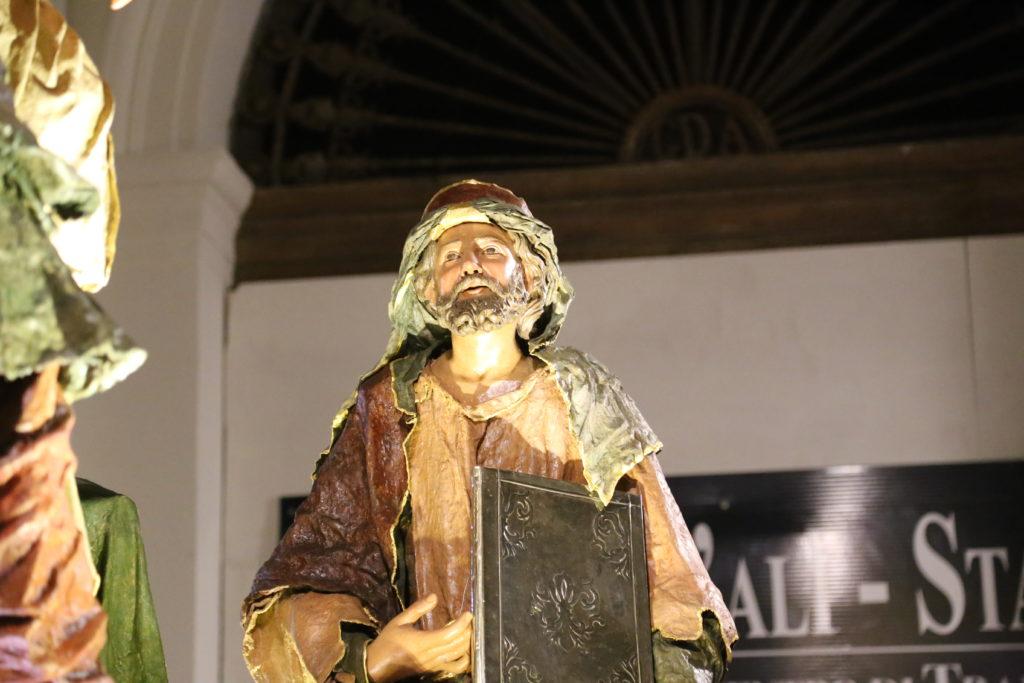 Gesù dinanzi a Erode (Particolare) - Ceto dei Pescivendoli.