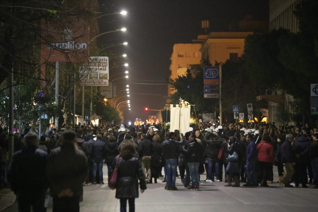 La processione trapanese dei Misteri del Venerdì Santo.