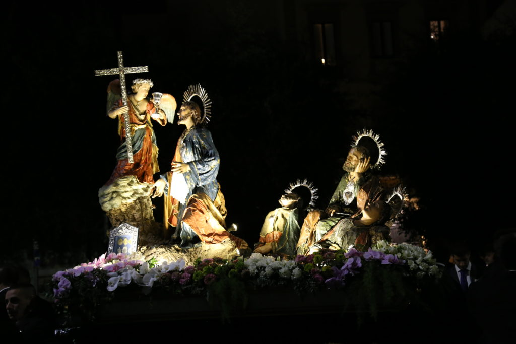 Gesù nell'orto del Getsemani - Ceto degli Ortolani.