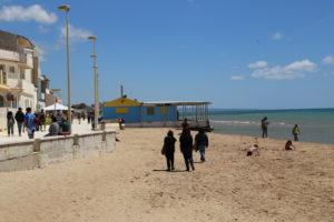 Punta Secca (RG) - La spiaggia.