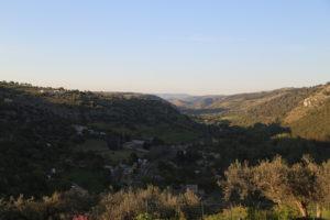 Ragusa Ibla - Vista dal Giardino Ibleo.