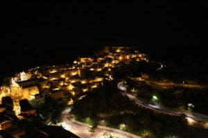 Ragusa Ibla vista da via Scale.