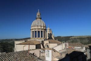 Ragusa Ibla - La cupola del Duomo di San Giorgio.
