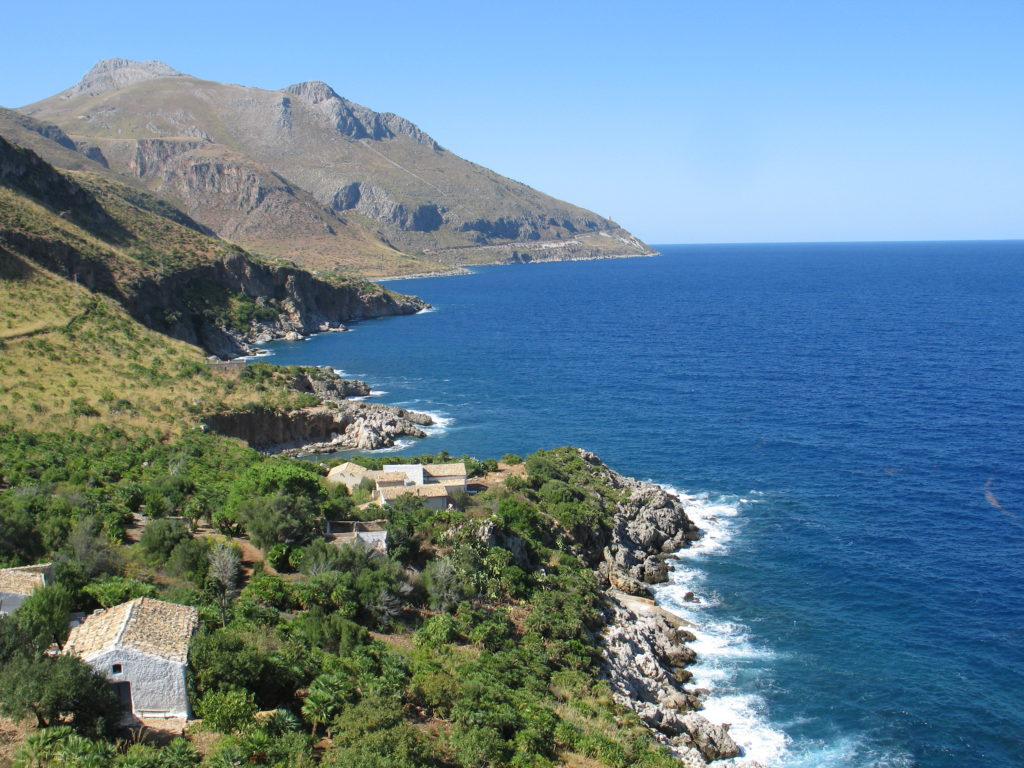 Riserva dello Zingaro, la costa.