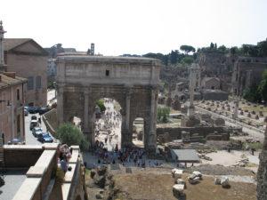 Foro Romano, Arco di Settimio Severo