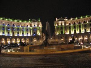 Piazza della Repubblica e fontana Esedra.
