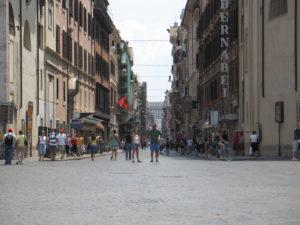 Via del Corso.