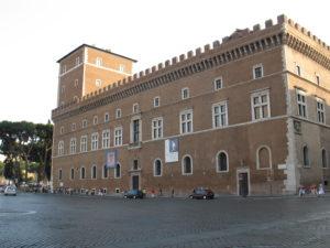 Piazza Venezia.