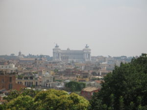 Panorama dal Pincio.