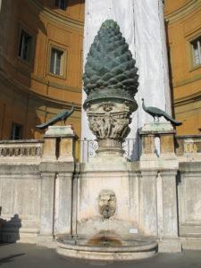 La Pigna: LA FACCIA SUA PAREA LUNGA E GROSSA COME LA PINA DI SAN PIETRO A ROMA. (Dante – Inferno XXXI)