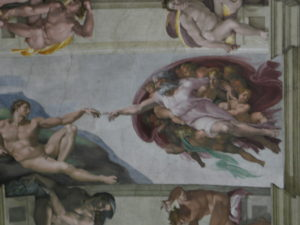 Musei Vaticani, la Cappella Sistina.