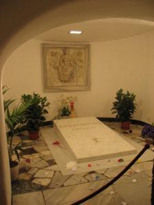 La Tomba di Papa Giovanni Paolo II (Come era)