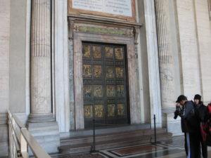 Basilica di San Pietro, la Porta Santa.