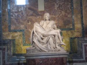 Basilica di San Pietro, la Pietà di Michelangelo.