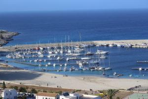 Panoramica del porto.