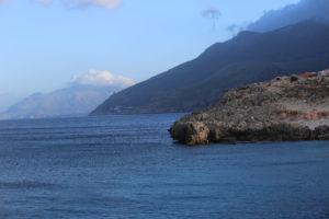 La costa della riserva dello Zingaro.