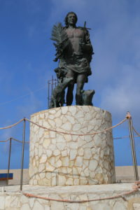 Statua di San Vito.