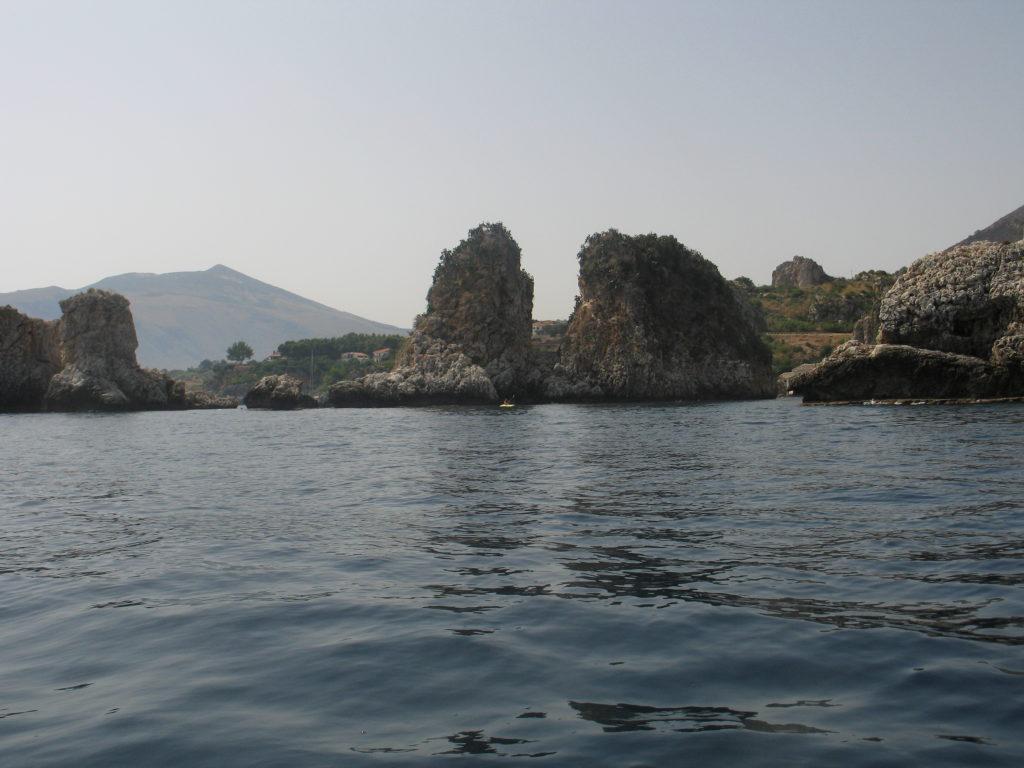 Scopello, la costa.