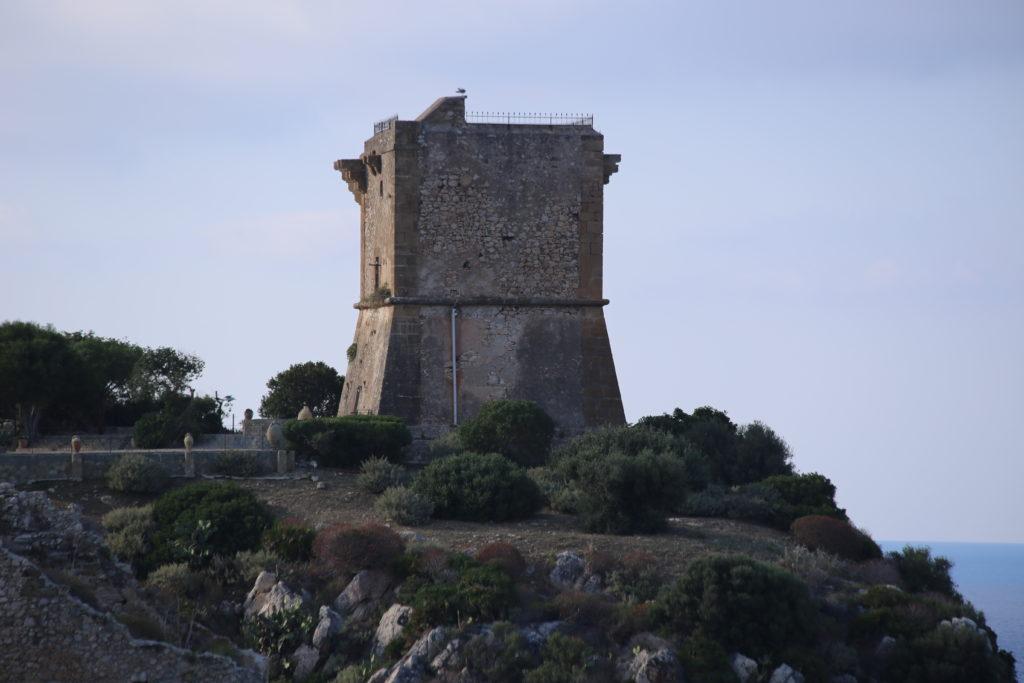Scopello, la torre saracena.