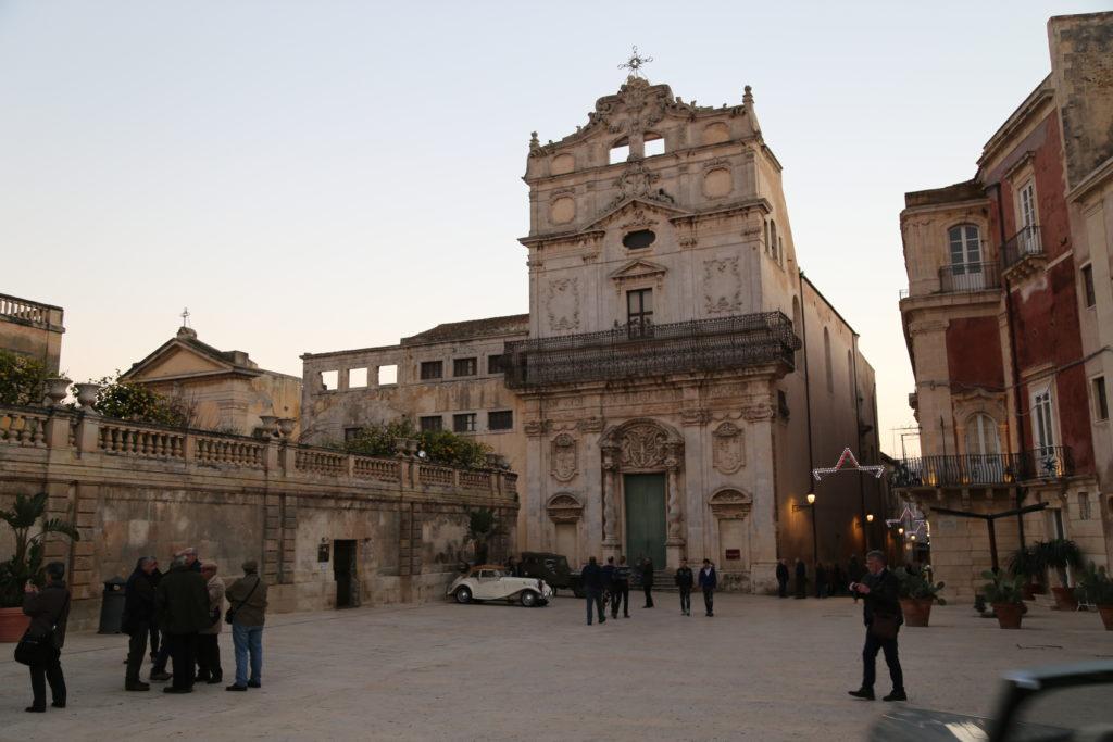 Isola di Ortigia, Piazza Duomo.