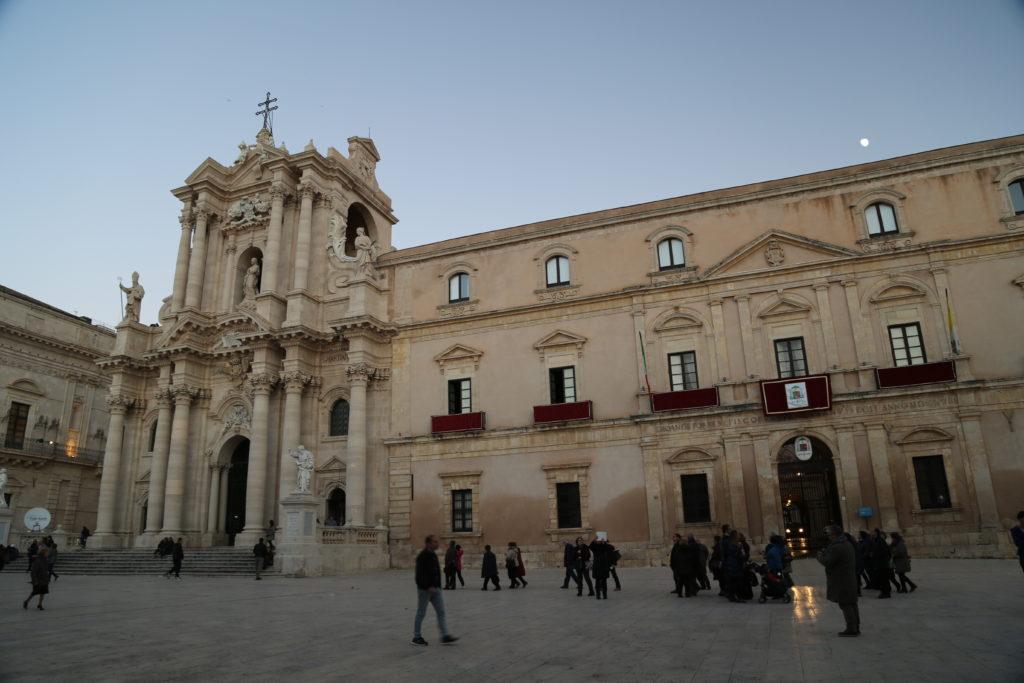 Isola di Ortigia, il Duomo.