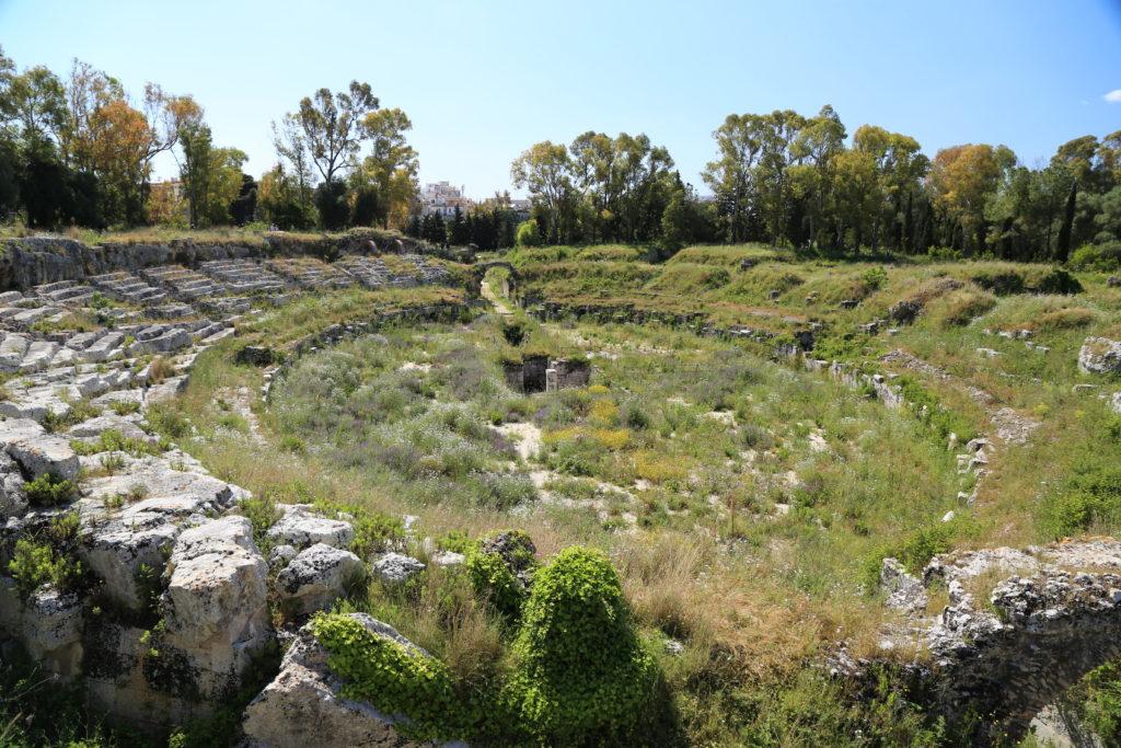 Anfiteatro greco di Siracusa