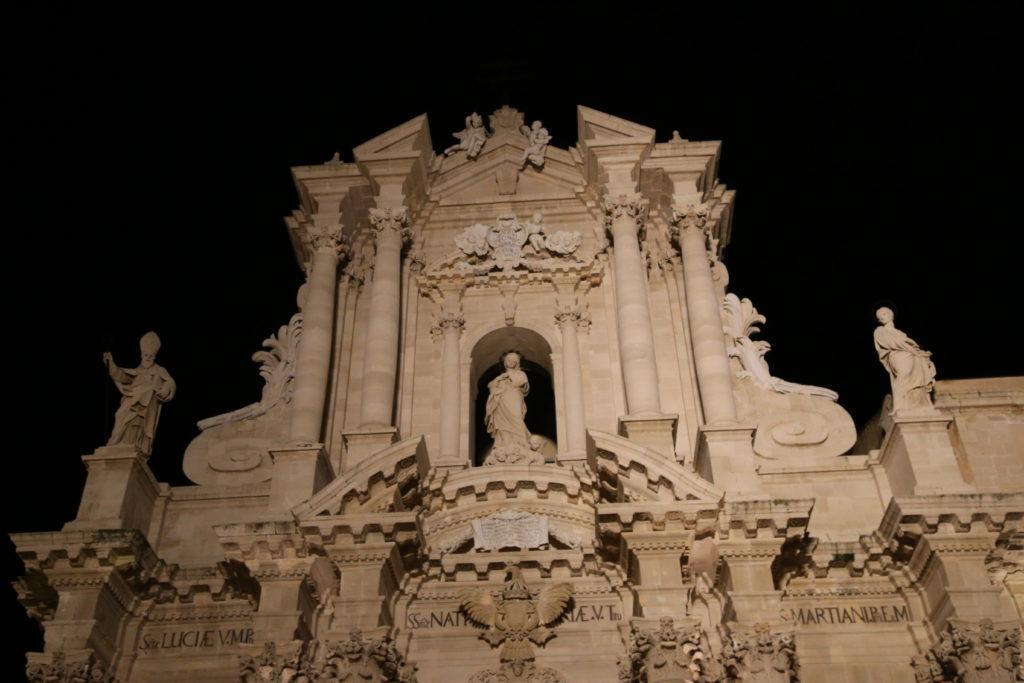 Isola di Ortigia, Particolare del Duomo.