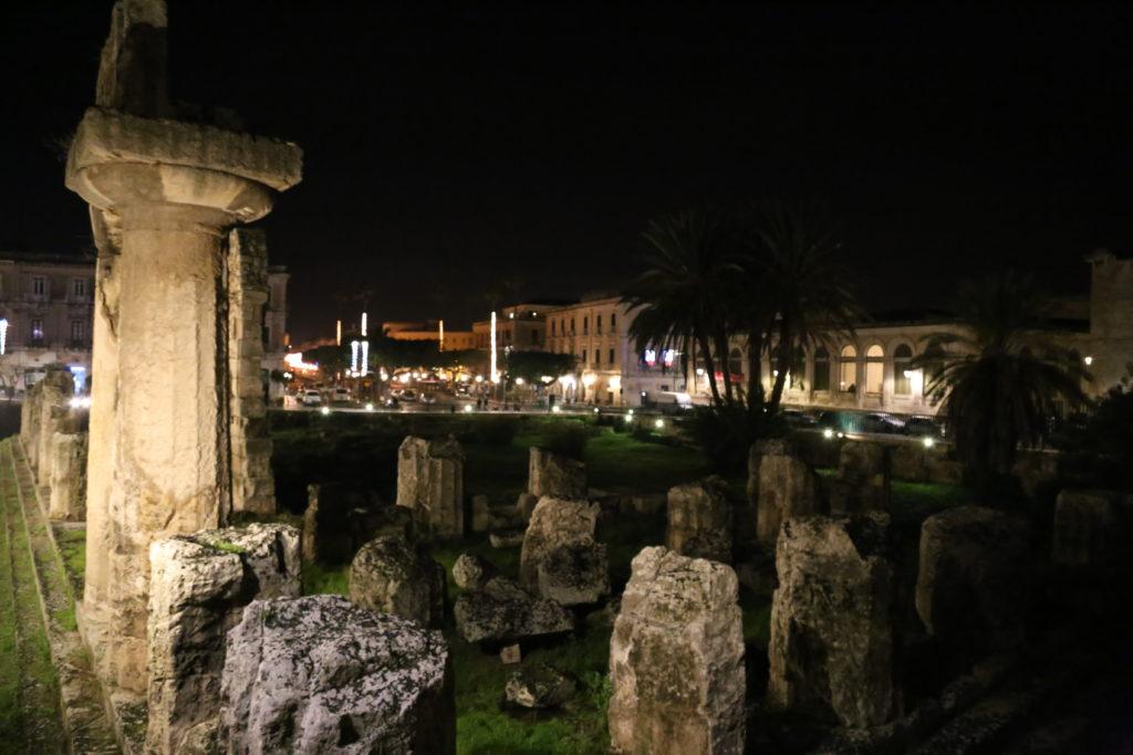 Isola di Ortigia, Tempio di Apollo.