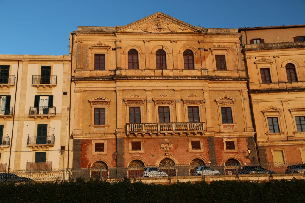 Isola di Ortigia, Palazzo della Sovintendenza ai Beni Culturali.