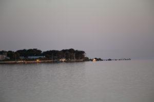 La costa dello Stagnone di Marsala.