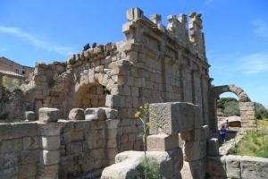 Il parco archeologico.