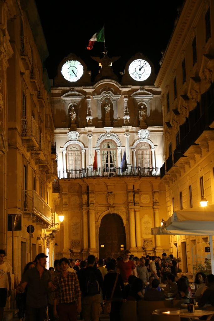 Il Corso – Palazzo Cavarretta.