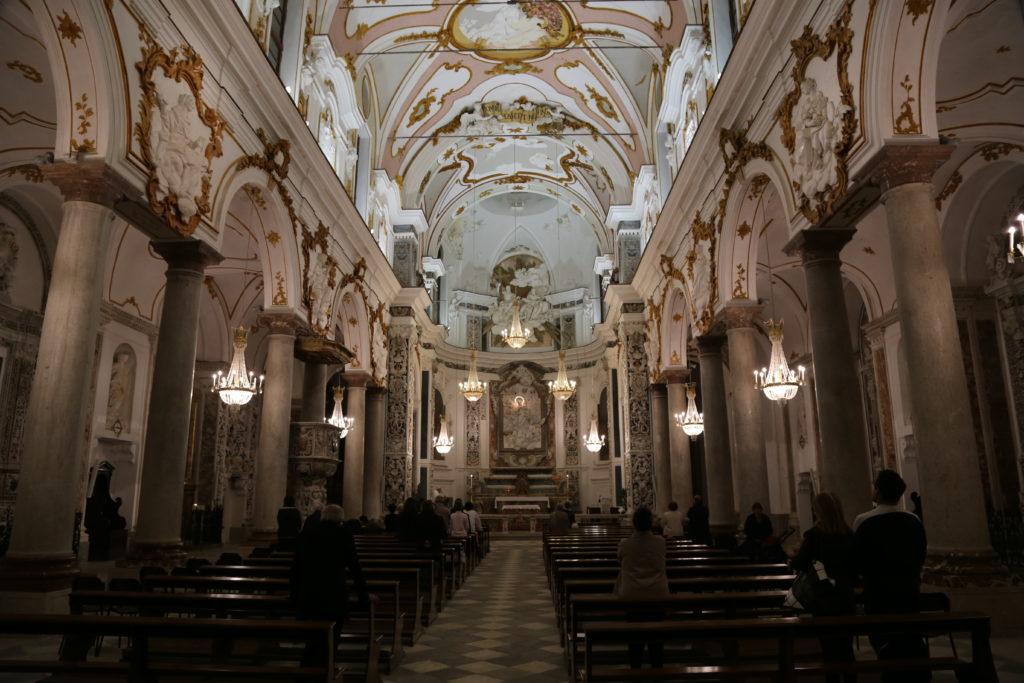 Chiesa del Collegio dei Gesuiti.- Interno.