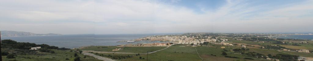Panoramica del paese.