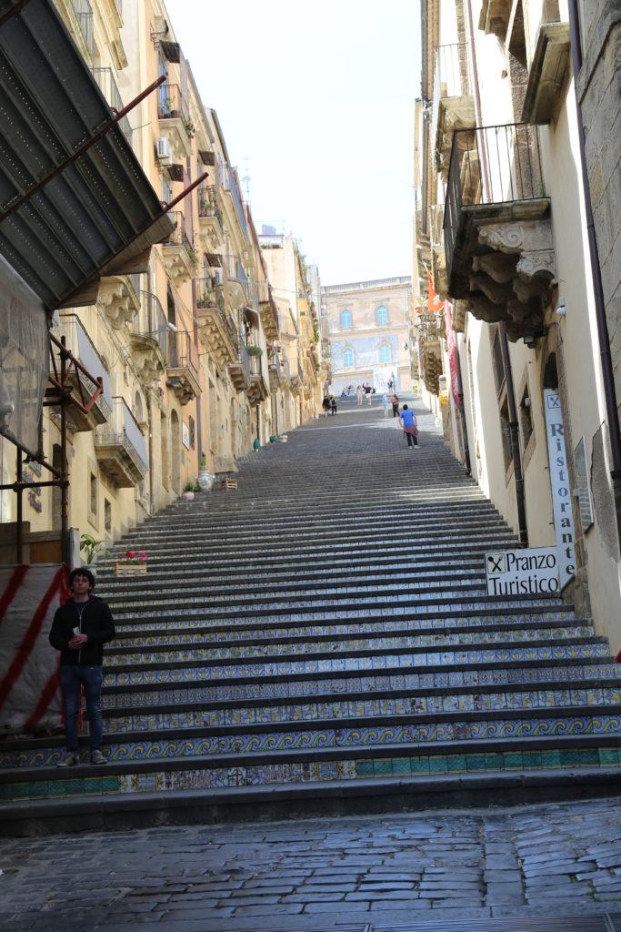 Scala Santa Maria del Monte.