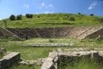 Parco archeologico di Morgantina, Il Teatro Greco.