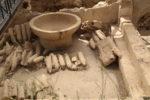 Parco archeologico di Morgantina, Le Terme.