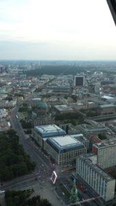 Alexanderplatz - vista dallaTorre della televisione di Berlino.