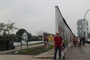 Il famigerato Muro di Berlino.