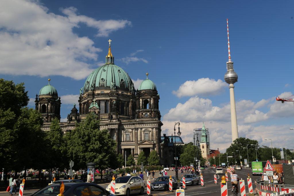 Berliner Dom e torre della televisione.