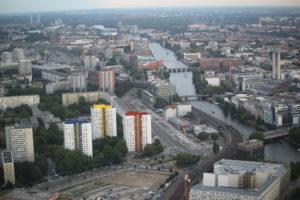 Panorama visto dalla torre della televisione.