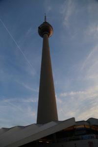 Alexanderplatz, la torre della televisione.