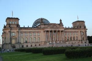 Palazzo del Reichstag, sede del parlamento.