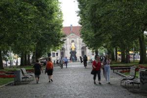 Goldener Reiter Hauptstraße