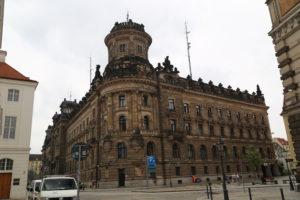 La stazione di polizia.