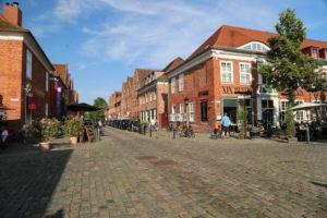 Il quartiere olandese di Potsdam.