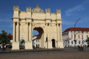 Porta di Brandeburgo a Postsdam
