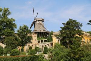 Parco di Sanssouci Historische Mühle von Sanssouci