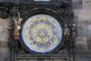 L'orologio astronomico.